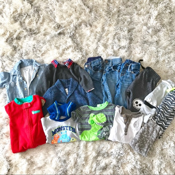 047313a7d1c5 GAP Other - Boys 3-6 month clothing lot baby gap winter